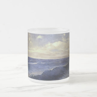 PAL Szinyei-Merse - vintage de la onda de agua. Taza Cristal Mate