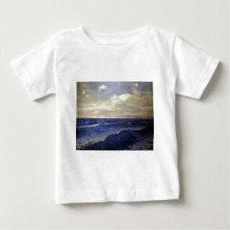 Pal Szinyei-Merse - water wave vintage. paintings Baby T-Shirt