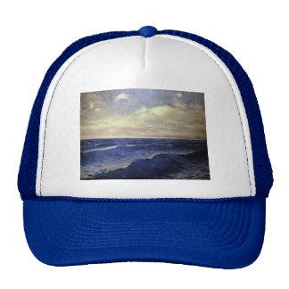 Pal Szinyei-Merse - water wave vintage. paintings Trucker Hat