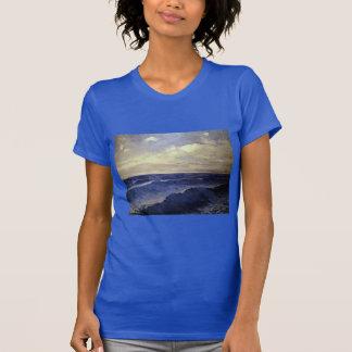 Pal Szinyei-Merse - water wave vintage. paintings T-Shirt