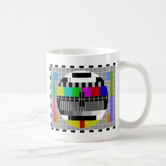 PAL TV test signal Classic White Coffee Mug