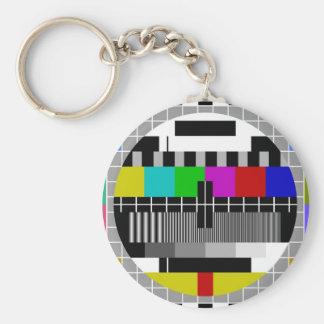 PAL TV test signal Key Chain