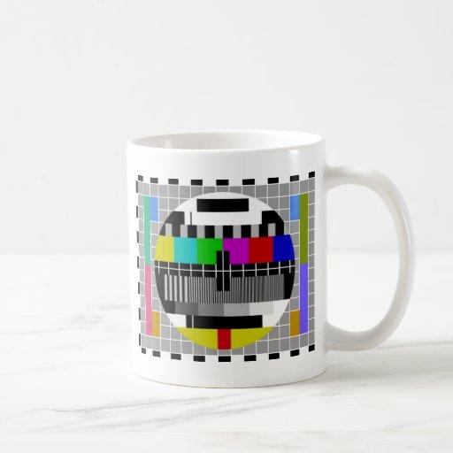 PAL TV test signal Mug