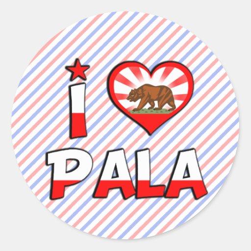 Pala, CA Sticker