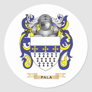 Pala Coat of Arms (Family Crest) Stickers
