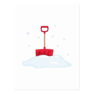 Pala de la nieve postal