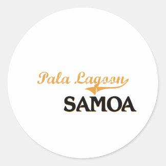 Pala Lagoon Samoa Classic Sticker