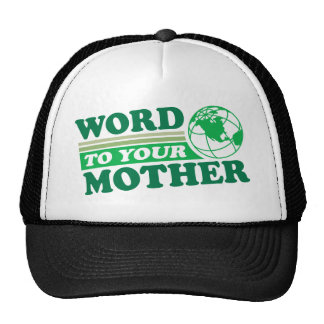 Palabra a su madre gorras