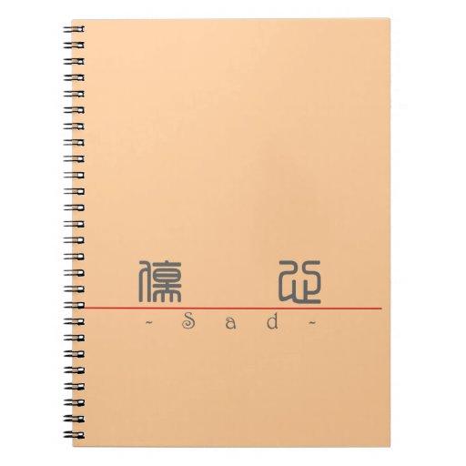 Palabra china para 10027_0.pdf triste libro de apuntes con espiral