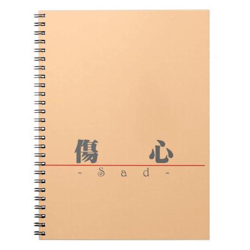 Palabra china para 10027_3.pdf triste libreta
