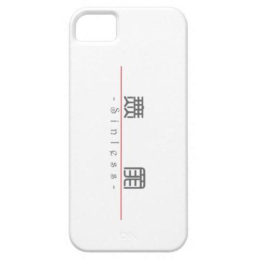 Palabra china para 10259_0.pdf libre de pecado iPhone 5 cárcasa