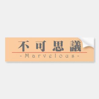 Palabra china para 10370_3.pdf maravilloso pegatina para auto
