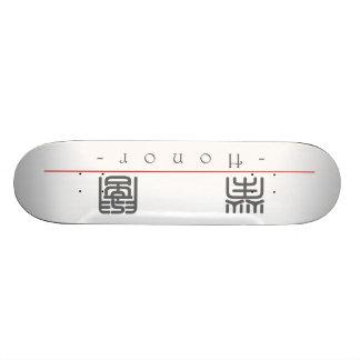 Palabra china para el honor 10088_0 pdf patin personalizado