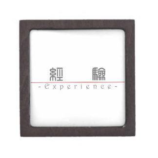 Palabra china para la experiencia 10156_0 pdf caja de regalo de calidad