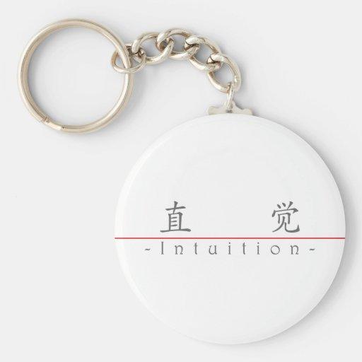 Palabra china para la intuición 10303_1.pdf llavero personalizado