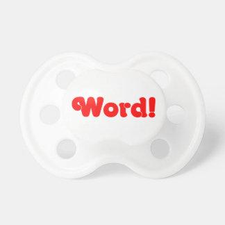 ¡Palabra! Chupetes Para Bebes