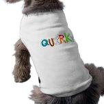 Palabra colorida del arte de la diversión única in camisetas mascota
