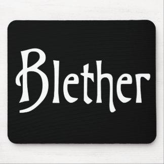 Palabra de argot escocesa divertida Blether Alfombrillas De Ratones