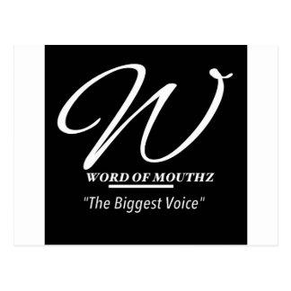 Palabra de la línea de productos de Mouthz #1 Tarjeta Postal