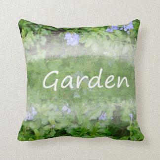 Palabra del jardín con cultivar un huerto del cojín