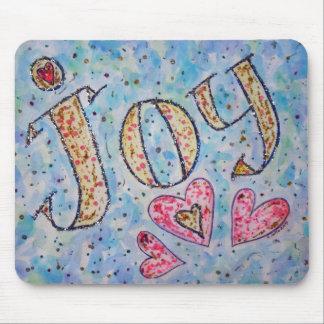 """Palabra inspirada """"alegría"""" Mousepad"""