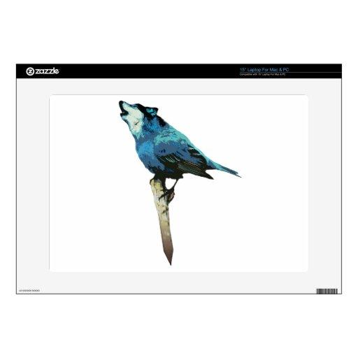 Palabra - Lobo-Pájaro Calcomanía Para Portátil