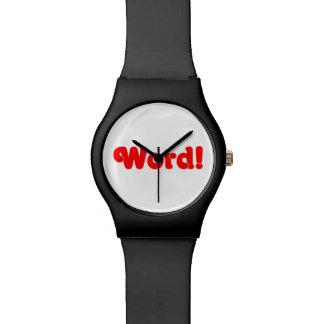 ¡Palabra! Relojes