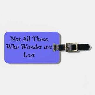 Palabras a vivir por la etiqueta del equipaje etiquetas de equipaje