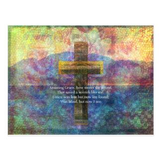 Palabras asombrosas de la tolerancia con la tarjeta postal