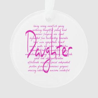 Palabras cariñosas para la hija