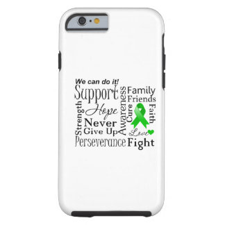 Palabras de apoyo del cáncer del riñón verde