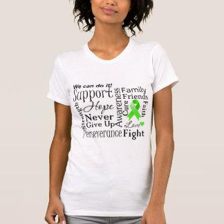 Palabras de apoyo del linfoma no-Hodgkin Camiseta