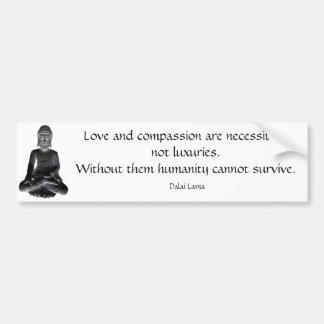 Palabras de Dalai Lama Pegatina Para Auto