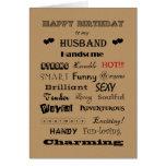 Palabras de feliz cumpleaños del marido de la alab felicitacion