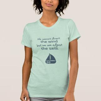 Palabras de la cita náutica del barco de vela de poleras