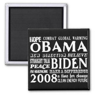 Palabras de la esperanza Obama y del imán 2008 de