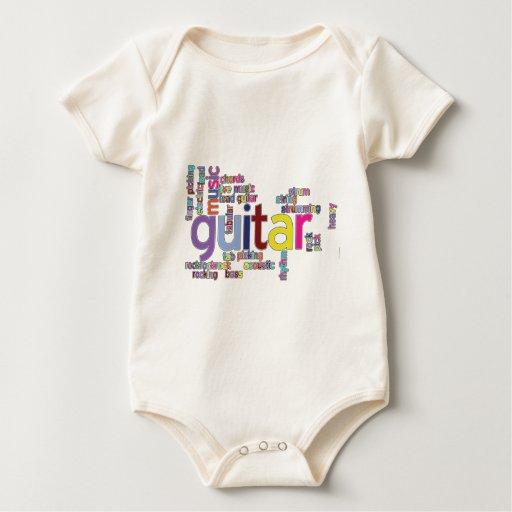 palabras de la guitarra body para bebé