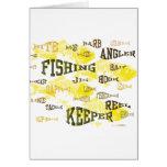 palabras de la pesca felicitación