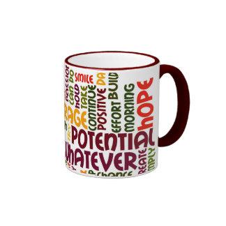 Palabras de motivación #1 taza de café