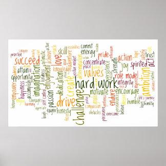 Palabras de motivación 2 posters