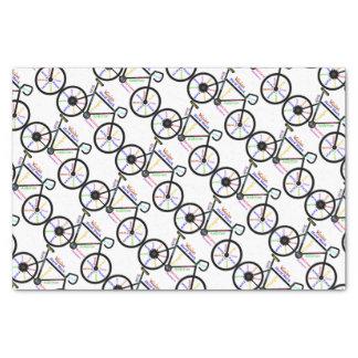 Palabras de motivación de la bicicleta para las papel de seda pequeño