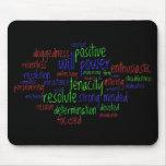 Palabras de motivación por el Año Nuevo, actitud p Mousepad