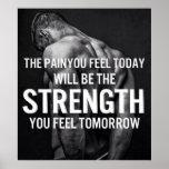 Palabras de motivación póster