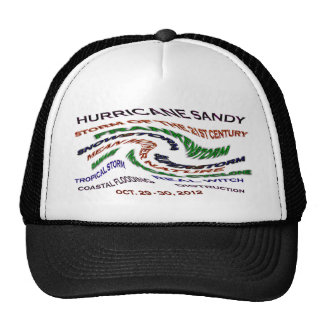 Palabras de Sandy del huracán Gorro De Camionero