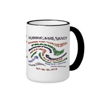 Palabras de Sandy del huracán Tazas