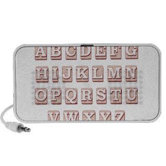 Palabras del alfabeto mp3 altavoces