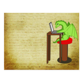 Palabras del dragón postal