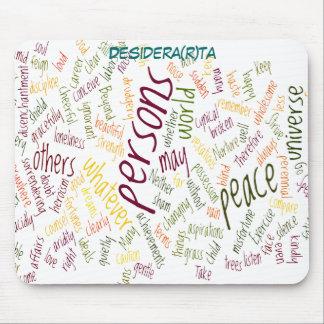 Palabras del positivo de Desidera (R) TA Tapetes De Raton