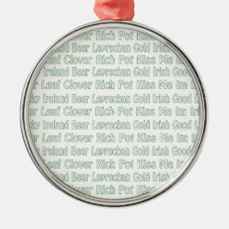 Palabras del St Paddys Ornamento Para Reyes Magos