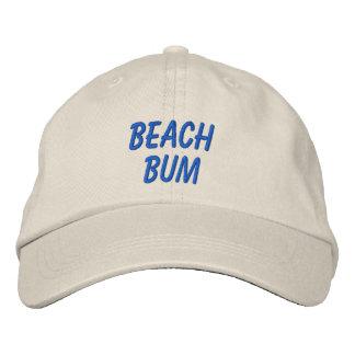 Palabras del vago de la playa o verano de encargo gorra de beisbol bordada